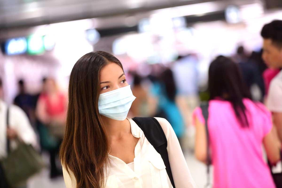 Das Coronavirus zeigt die typischen Symptome von Atemwegsinfektionen